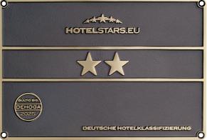 Deutsche Hotelklassifizierung Hotelsterne-Vergabe europäische Hotels